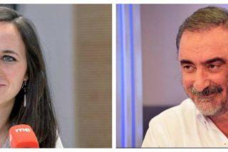 """Herrera se parte de risa con la podemita que llamó Felipe 'cuarto' al rey: """"Uve más palito es Felipe 'sexto', corazón"""""""