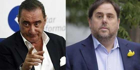 """Herrera se suma a la #TVEsinGolpistas: """"El problema no está en entrevistar a Junqueras en 'Informe Semanal', sino en hacerle un masaje"""""""