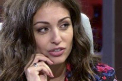 Hiba Abouk confiesa a Toñi Morenola deuda que mantiene con el supermercado Dia