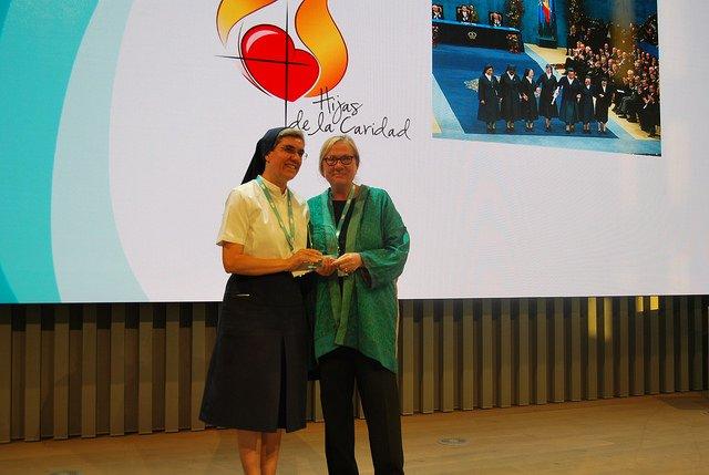Las Hijas de la Caridad reciben el Premio de Honor por su contribución al bienestar social Madrid,