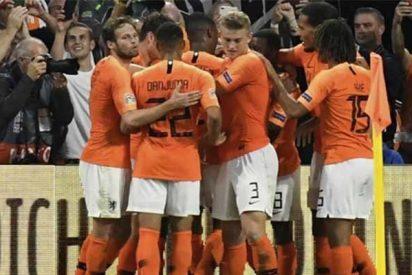 Holanda pega un baño a Alemania y da una nueva sorpresa en la UEFA Nations League