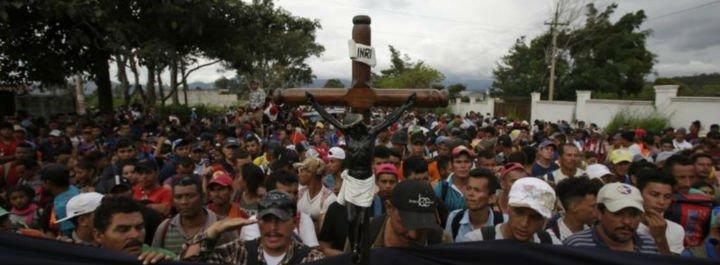El obispo de Querétaro ordena que las iglesias se conviertan en albergues para los migrantes hondureños
