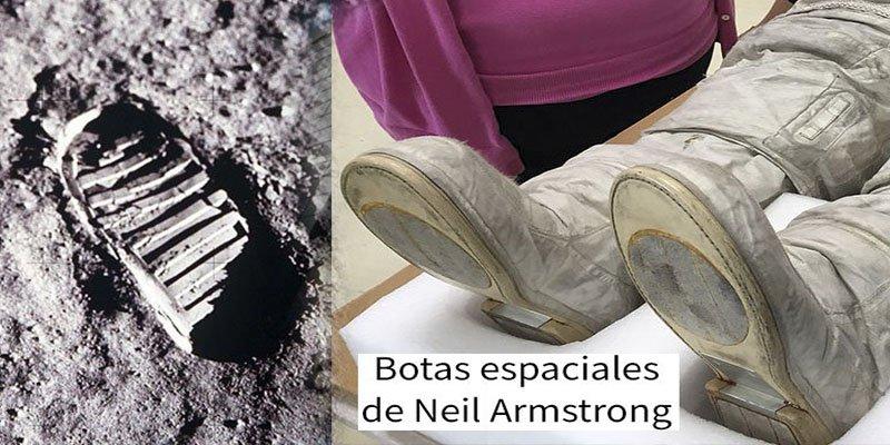 ¿Sabías que las huellas de la Luna no concuerdan con las de las botas de los astronautas?