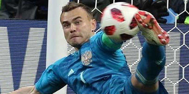 El portero Ígor Akinféyev deja la selección rusa de fútbol