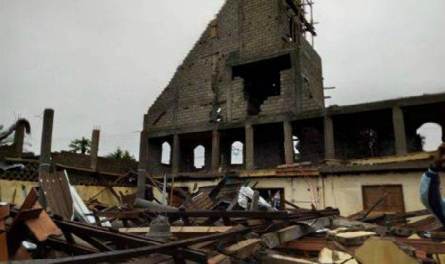 El derrumbe de una iglesia en Camerún deja dos muertos y cuatro heridos