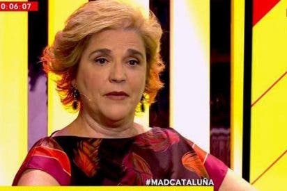 """Pilar Rahola decreta la ruptura independentista cargando contra ERC: """"¡Han votado junto a los que avalan la represión!"""""""