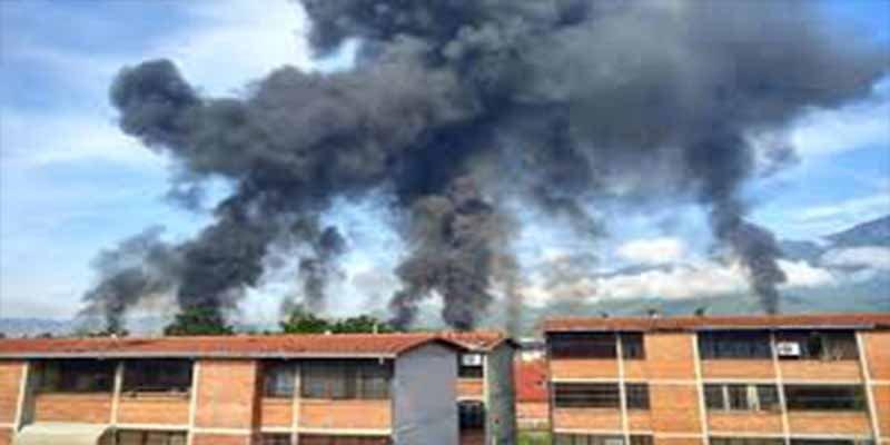 Avanza la revolución chavista: Se incendia otra planta de PDVSA en Venezuela (Vídeo)