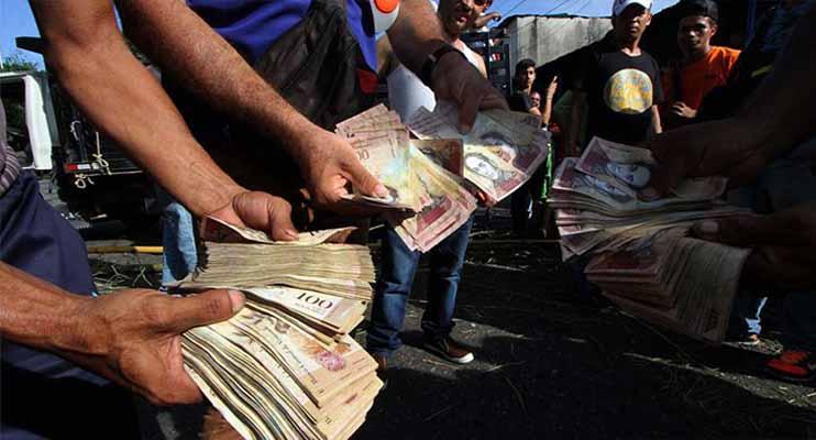 """Asamblea Nacional de Venezuela: """"Los precios han subido 115.824,20% en 2018"""""""