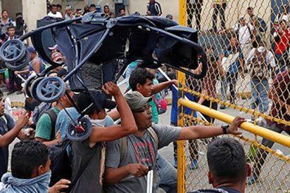 Tras un duro enfrentamiento en la frontera de Guatemala y México muere un inmigrante y varios resultan heridos