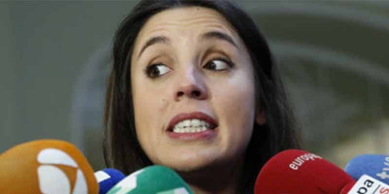 """Irene Montero ante este vídeo de la ministra Celaá: """"Madre de dios, lo que hay que oír""""."""