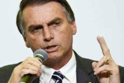 """Jair Bolsonaro promete """"barrer Brasil con los rojos marginales"""""""