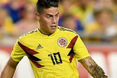 James abrió la goleada de Colombia frente a EE.UU. con este gol espectacular