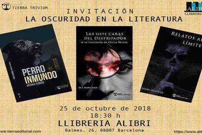 Presentación en Barcelona de 'Relatos al Límite' de Jordi Rosiñol