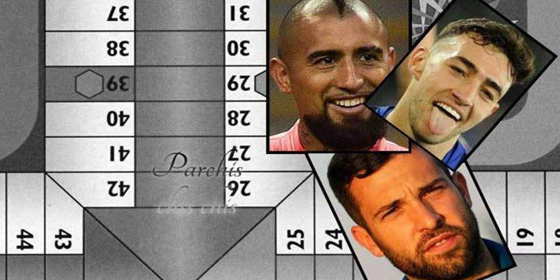 Estos tres jugadores del Barcelona bajaron 10 minutos tarde del autobús… ¡para terminar una partida de parchís!