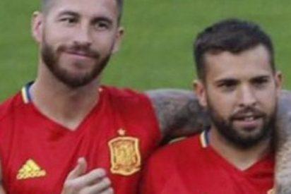 """Sergio Ramos: """"Jordi Alba es uno de los mejores laterales del mundo"""""""