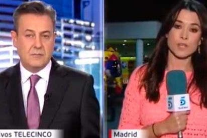 La seguridad del Doce de Octubre corta en directo a Informativos Telecinco
