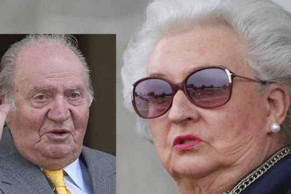 """La Infanta Pilar: """"Mi hermano Juan Carlos I es como una portera, quiere saberlo todo"""""""