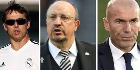 Con Julen el equipo va peor que con Benítez y mucho peor que con Zidane