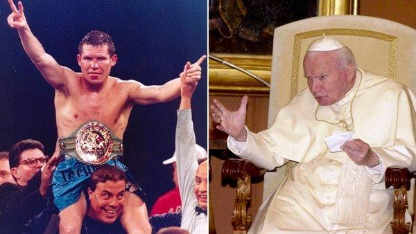 Julio César Chávez no respeta ni la casa de Dios: inhaló cocaína en el baño privado del papa Juan Pablo II