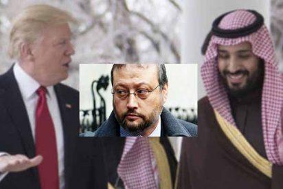 """Donald Trump dice que las alucinantes explicaciones de Arabia Saudita sobre la muerte del periodista Khashoggi son """"creíbles"""""""