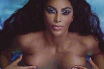 La bella Kim Kardashian se presenta desnuda y virgen en su reportaje más polémico