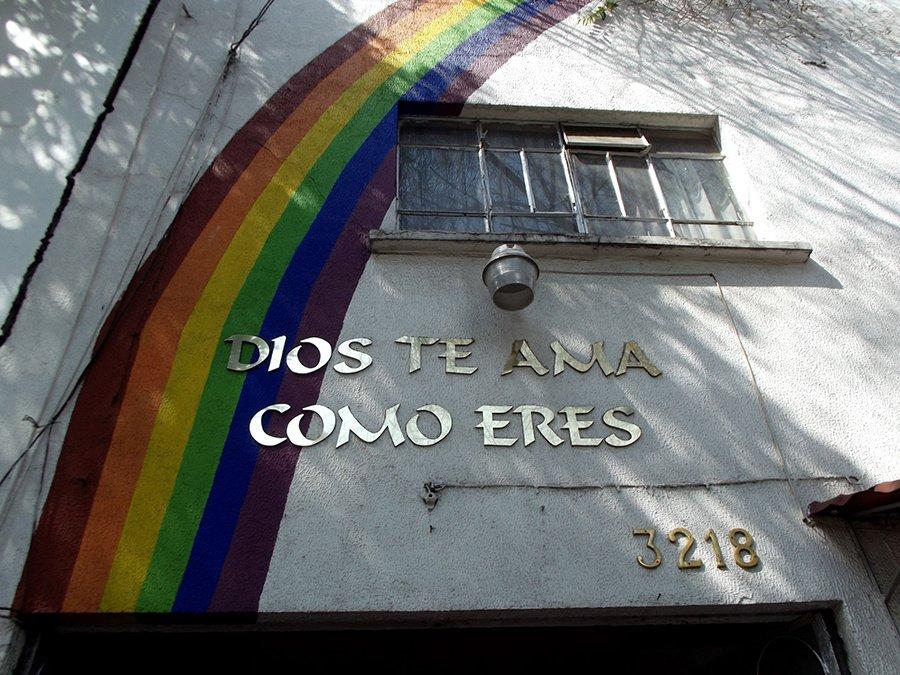 """""""Santidad: todo nuestro apoyo a las iniciativas inclusivas hacia las personas LGTBI dentro de la Iglesia Católica"""""""