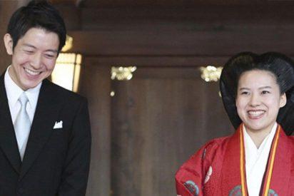 La princesa Ayako de Japón se convierte en plebeya por amor tras casarse con un empleado transportista