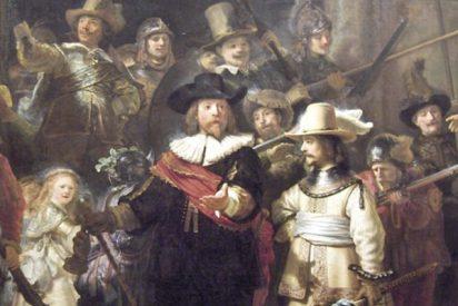 """¿Sabes por qué el célebre cuadro de Rembrandt: """"La ronda de noche"""" será restaurado en público?"""