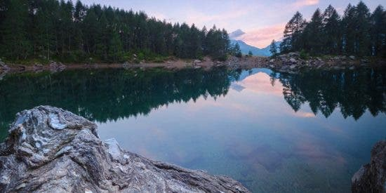 Desaparece este lago de los Alpes que inspiró a varios poetas