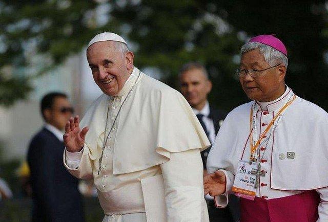 """Obispo de Daejeon: """"¿El Papa en Corea del Norte? Sería un milagro pero todo es posible para Dios"""""""