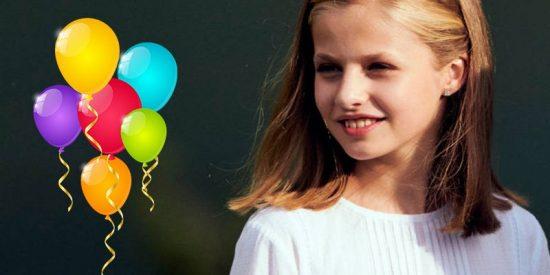 Cachondeo en las redes con el plan de Leonor para el día de su cumpleaños