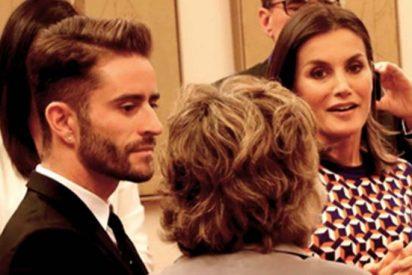 La lección que le ha dado el 'príncipe' de Instagram a una entregada reina Letizia