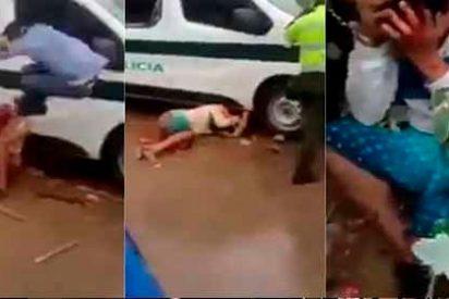 Colombia: Linchan a tres venezolanos acusados de robar niños por una falsa cadena de WhatsApp