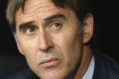 ¡Alerta roja en el Real Madrid!: a Julen Lopetegui le huele el culo a pólvora
