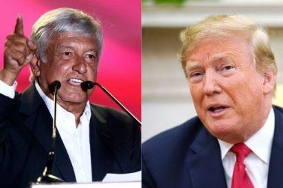 """Donald Trump empieza con pie derecho su relación con Andrés López Obrador: """"Trabajaremos muy bien juntos"""""""
