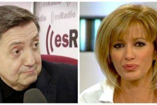 """Losantos reta a la """"colipoterra"""" Susanna Griso a que aborde el acoso sexual a la portavoz de IU en Europa"""