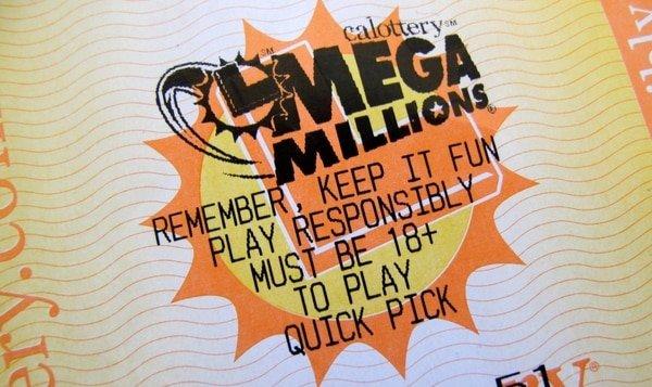 Éste es el billete ganador del premio de 1.600 millones de la lotería Mega Millions