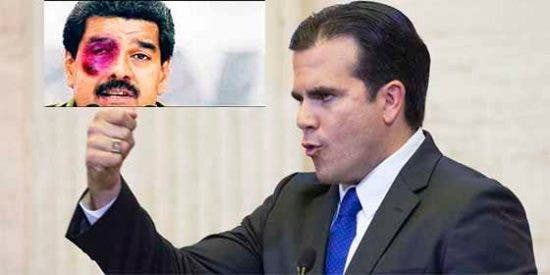 El KO que le propinó el gobernador de Puerto Rico al dictador Maduro en Twitter