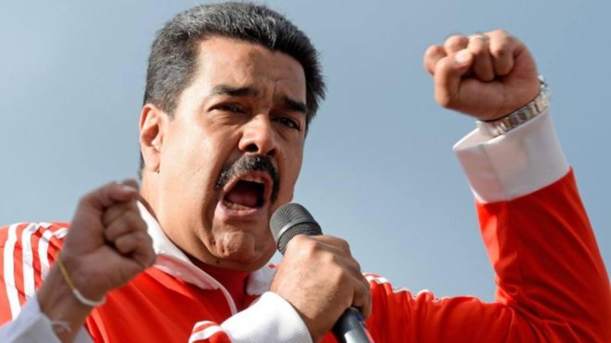 """El tirano Nicolás Maduro: """"A mí me protegen Dios y el pueblo, ni un pelo me van a tocar"""""""
