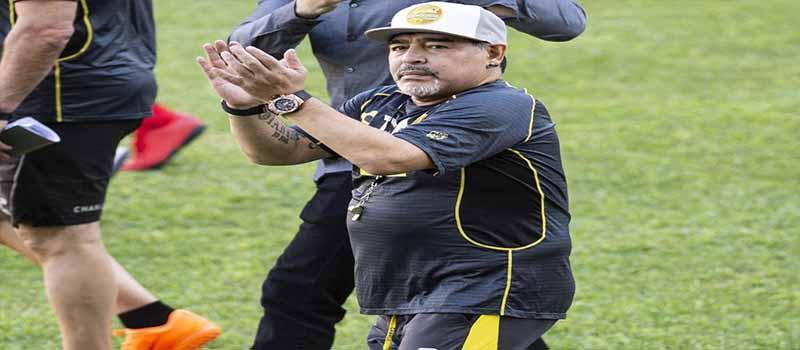 Diego Maradona: los detalles de la lesión que dificulta su movilidad