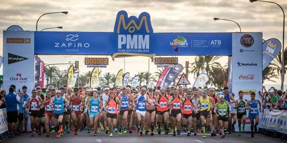 """El """"Zafiro Palma Marathon"""" regresa de nuevo a las calles de Palma"""