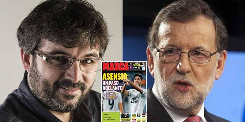 'Gilipollas sin Fronteras': El numerero Évole recurre al 'Marca' para solicitar una entrevista a Rajoy