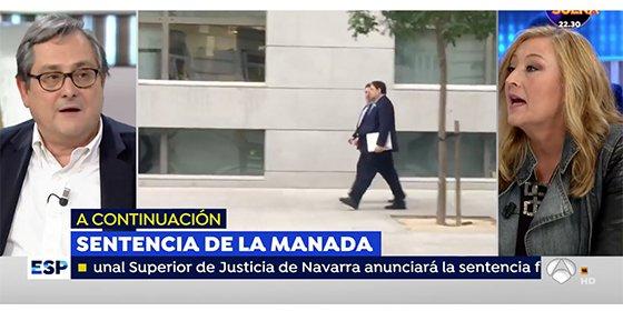 """Marhuenda no le pasa ni una más a Beni por su jeta en las teles: """"Yo criticaba a TVE pero no iba, a diferencia de ti"""""""