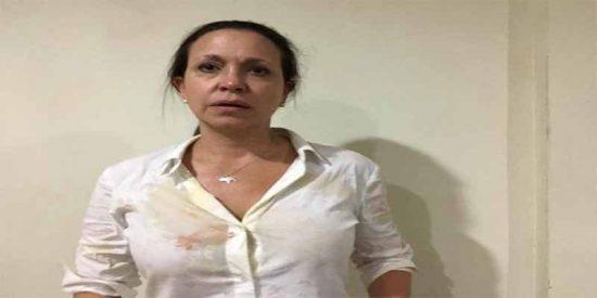 Videos: Así fue la agresión perpetrada por el régimen de Maduro en contra de María Corina Machado