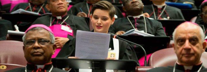 """Reverenda Martina, la única mujer sacerdote en el Sínodo: """"Me sentí aceptada. Se escuchó mi voz"""""""
