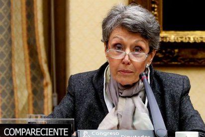 Un micro capta graves insultos al PP de la podemita 'jefa' de TVE Rosa María Mateo