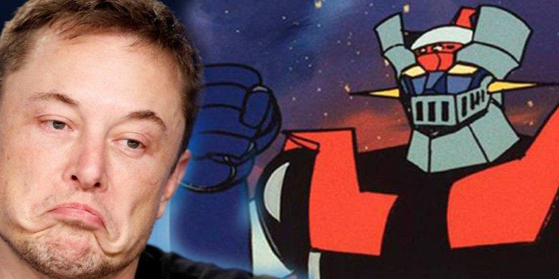 Elon Musk planea construir a 'Mazinger Z'