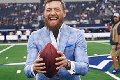 Conor McGregor: las rede dan una paliza al luchado tras su 'debut' en el fútbol americano