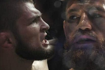 Escandalazo en el regreso de McGregor a la UFC: Khabib provocó una batalla campal fuera del ring
