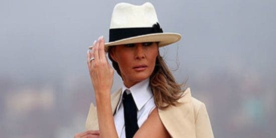"""Melania Trump: """"Tengo cosas más importantes en las que pensar que las infidelidades de Donald"""""""